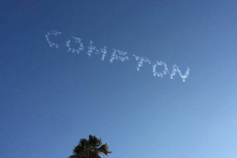 Compton invade o céu de Los Angeles